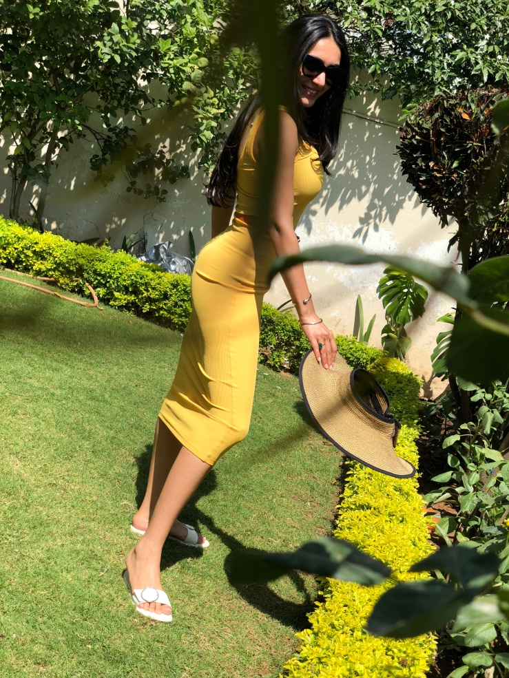 A dip in my yellow dress - Rupika Chopra