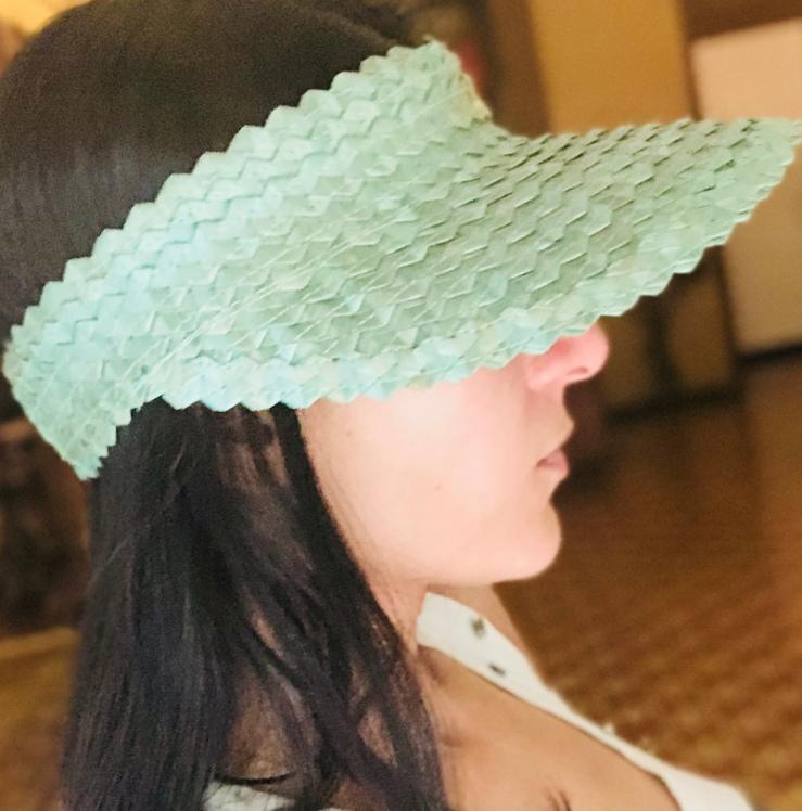 Bamboo Summer Hat - Rupika Chopra