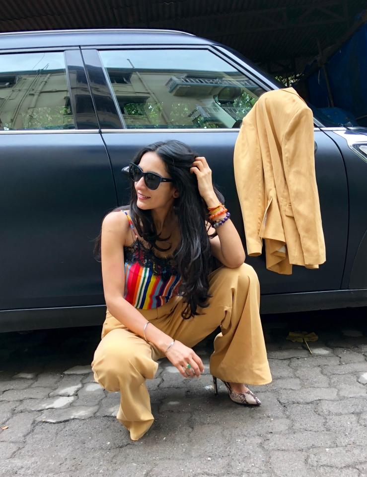 Double Breast Suit- Rupika Chopra