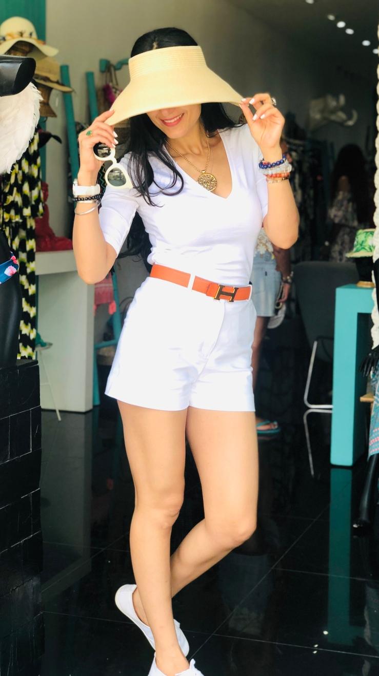 Visor Hat - Rupika Chopra
